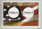2x3  2001 State Quarter P & D Frosty Case - Harris