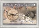 2x3 It's A Boy Sacagawea Dollar Frosty Case - Harris