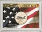 2x3 Sacagawea/ Flag Single Coin Frosty Case - Harris
