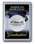 Graduation Silver Eagle Frosty Case - Harris