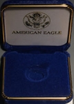 Blue Gold Eagle Presentation Box
