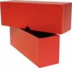 "9"" Deluxe Single Row Box (Red)"