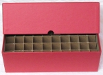 Cent 50 Roll Vertical Storage Box, Red