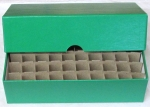 Dime 50 Roll Vertical Storage Box, Green