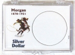 Morgan Dollar 2x3 Snaplock