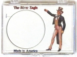 Uncle Sam Silver Eagle 2x3 Snaplock