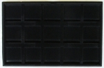Crown 15 Space Black Tray