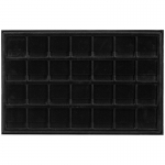 Black 28 Slot 2 X 2  Coin Tray