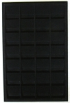 Black Vertical 2x2 Tray, 28 Coin