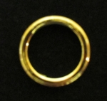 Gold Half Dollar Insert Rings Net