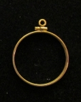 Gold Filled $10 Gold Coin Mount  Net