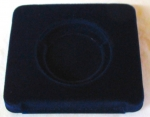 (H) Size Vacuum Display Tray, Blue, For VB1 Velvet Box