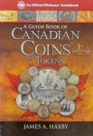 Canadian Coins & Tokens 1st Edition, Official Red Book Series, Haxby/Whitman