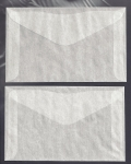 #7 Glassine Envelope, (4-1/8 x 6-1/4) Pack of 100