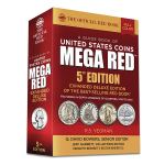 2021 MEGARED Deluxe Red Book Guide to U.S. Coins 6th Edition