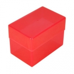 Red Storage Box For 104 Card