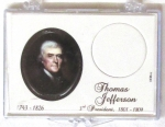 2007 Thomas Jefferson Presidential Dollar Snaplock