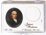 2007 James Madison Presidential Dollar Snaplock