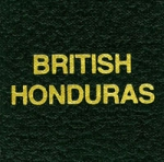 Label, British Honduras Scott
